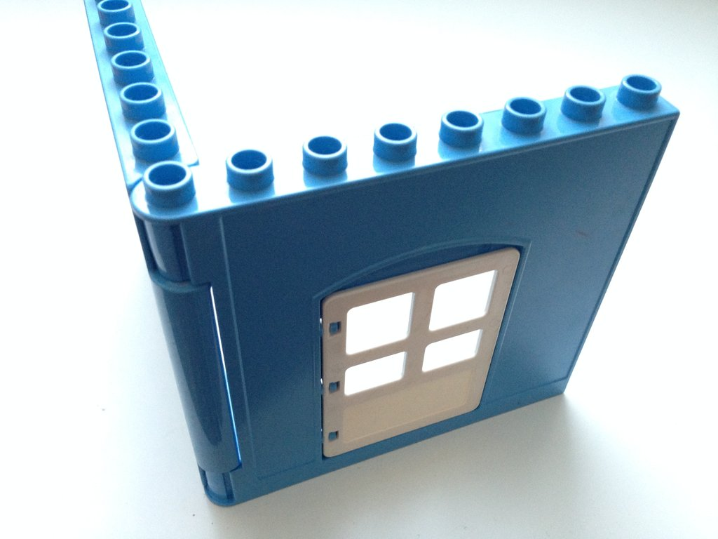 lego duplo w nde t r fenster hellblau wei pracht. Black Bedroom Furniture Sets. Home Design Ideas
