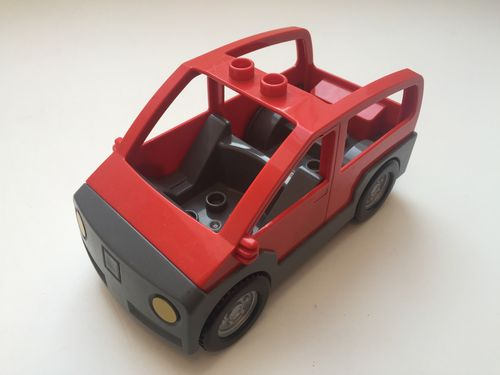 Lego Duplo Auto in rot_2