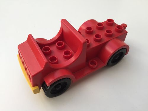 Lego Duplo Auto in rot-gelb_3