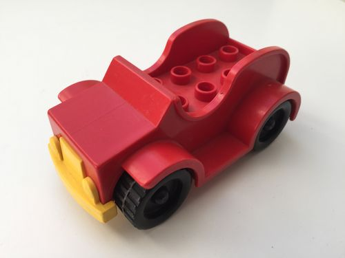 Lego Duplo Auto in rot-gelb_4